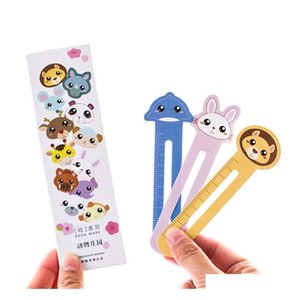 30pcs lot cute animal farm paper bookmark book holder multifunction kawaii stationery for children gifts school supplies