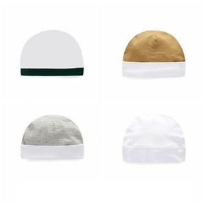 Spring Autumn Toddler Baby Boy Girl Solid color Infant Cotton Soft Hip Hop Hat Beanie Cap De Bebe 4 color P209