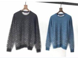 Autunno e inverno nuovo maglione a righe a strisce colora laureato lettere maglione girocollo maglione uomo designer di alta qualità Casual con cappuccio maglione pullover