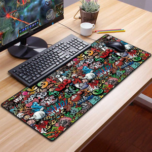 Computer Mouse Pad Gaming Mousepad Grand tampon de souris Gamer XXL MA suite tapis PC Keyboard Tapis de clavier LJ201031