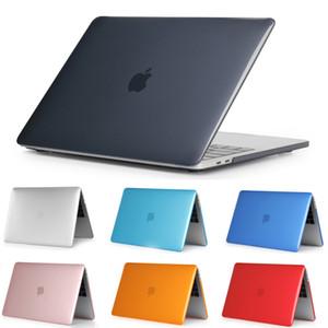 Cubierta de portátil protector de plástico duro mate Funda para portátil para MacBook Air 11 13 Pro 13 15 Pro Retina 13 15 12