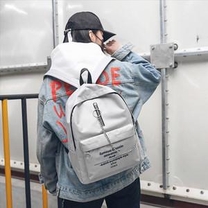 2019 Новый дизайн Женщины Письмо Печать Сумка Мода Trend рюкзак Mochilas Feminina Bagpack Mochila Mujer