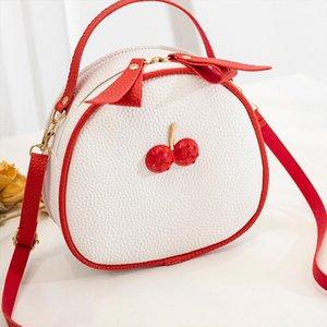 Ocardian сумочка Новая мода Trend Womens Hit Color Portable Bag с молнией Элегантная леди Вишневые сумки, бросьте май22