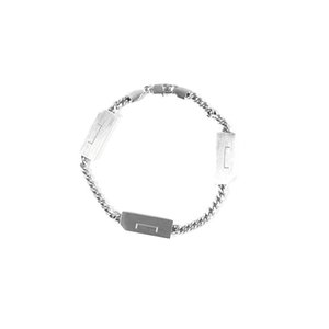 19FW A- LOGO Metal Chain necklace Bracelet Men Women Hip Hop Outdoor Street Accessories Festival Gift free ship