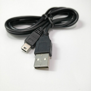1M USB 2.0 to Mini 5 Pin Data Charging Charger Cable Cord for Sony PlayStation 3 PS3 Controller