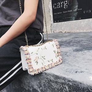 Rendas Flor Mulheres Sacos de Ombro Flap Tassel Messenger Crossbody Bags Mulheres Handbags 2020 New Drop Shipping