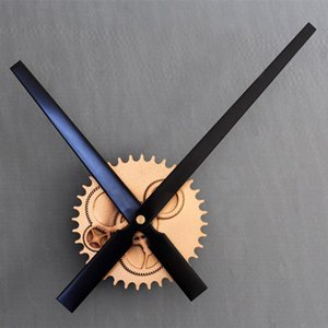 Retro Gear Wall Clock European Industrial Style Hanging Clocks Wall Decor Metal Clock Pointer Home Decorations 30 Cm