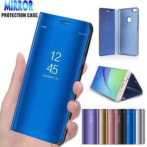 Smart Mirror Flip Case for Samsung Galaxy J4 J6 A6 A8 PLUS A7 A8 J8 2018 J2 Core J5 غطاء مقاوم للصدمات