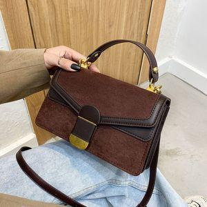 Fashion Matte Crossbody Messenger Bags For Women 2021 New Shoulder Handbags Female Luxury Designer Purses Travel High Quality