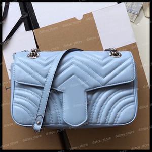 Crossbody Bag Women Luxurys Designers Bags 2021 Handbags Purses Fashion Shoulder Bag Womens Messenger Bag Marmont Leather Handbag