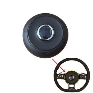 For VW Golf MK7 GLI GTI R Sport Steering wheel Horn Cover Cap With Logo