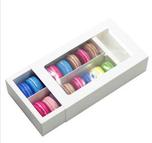 Macaron Kutusu Kek Kutuları Ev Malzemeleri Kağıt Çikolata Kutuları Bisküvi Muffin Kutusu Bakeware Ambalaj Tatil Hediye Kutusu