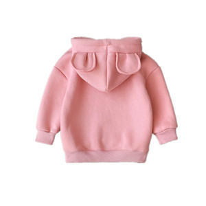 Spring Autumn Baby Boys Girls Clothes Children Cotton Hooded Sweatshirt Kids Casual Sportswear Infant Clothing Hoodies