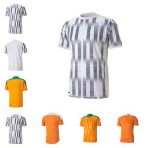 2020 2021 National Team Costa D'Ivorio Soccer Jerseys Drogba Yaya Toure Kessie Zaha Cornet Personalizzato 20 21 Casa Costa d'Avorio Casa Away Camicie da calcio