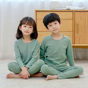 Boys Girls Pajamas Set Casual Sleepwear for Toddler Kids Children Underwear Pyjamas Boy Girl Clothing Nightwear