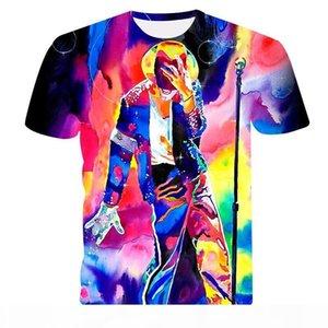 Michael Jackson tshirt Men Women Hip hop Rap t-shirt 2019 summer New Band Mens 3d t shirt King of Print Casual Cool shirt