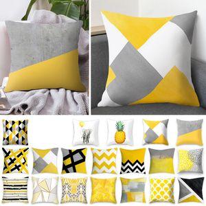 car pillow cushion cover sofa cover European and American fashion Plush 45 * 45cm home single side digital printing pillow cover T3I51494