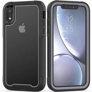 Hybrid Armor Shockproof Phone Case For iPhone 12 11 Pro MAX XR XS Max X 6S Plus Hard PC+TPU Back Cover For iPhone 11 XR 7 8 Plus