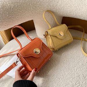 Stone Pattern Super Mini PU Leather Tote Bags For Women 2020 Summer Shoulder Simple Handbags Female Cross Body Bag