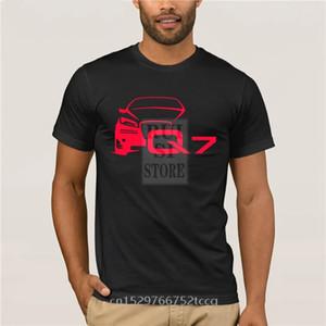 Verão Camiseta Para Homens Hot Deals 2020 Tops Curtos Homme Novo Q7 Fãs de Carro Clássico Rally Moda 100% Algodão 1118