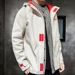 KANCOOLD New Men's jacket men women harajuku windbreaker jackets hooded hip-hop streetwear night shiny zipper coats jacke 86