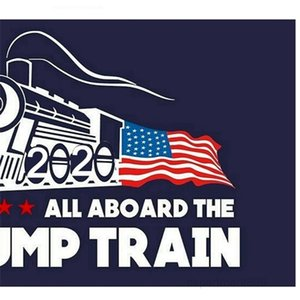 Car Trump Train Wall Stickers Donald Window Sticker US Election Home Decor Free Shipping OWC1076