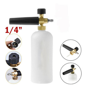 High-Pressure Cleaner Spray Jet Pot Car Pressure Washer Snow Foam Lance Soap 1L Bottle For Nilfisk New Type Wash Accessories