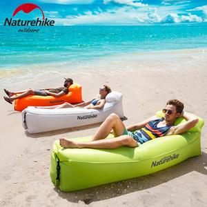Naturehike Hava Yatağı Açık Kamp Şişme Kanepe Taşınabilir Şişme Plaj Sandalye Kanepe Şezlong Comfort Leisure Sofa 201113