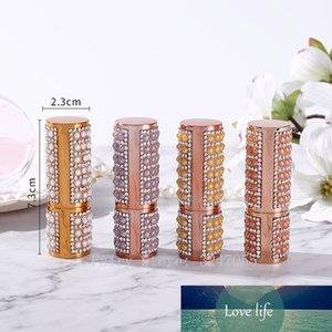 10 30 50pcs 12.1mm Empty Pearl Lipstick Tube, DIY Round White Orange Lip Balm Container, Refillable Cosmetics Lipstick Packaging