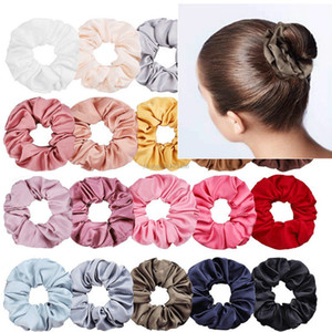 Fashion Women Scrunchies Hair Ring Pony Tails Holder Hair Stretch Ties Suitable for Women Girls Hair fashion will and sandy gift