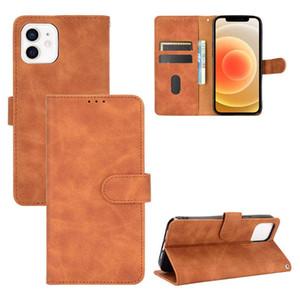 Cassa da portafoglio per iPhone 12 Mini 11 Pro Max Leather Slip Slip Case per Samsung S20 Fe Fan Edition A71
