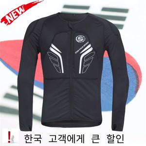 Hombres Motocicleta Ropa Auto Racing Chaqueta Off-Road Motocross Protective Gear Armor Body Protector Sportswear Racing Equipment 201216