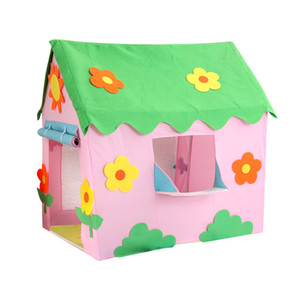 Play Game House Kids Tent Toy Folding Portable Girls Princess Indoor Outdoor Garden Game Play Ball Pit Pool Playhouse For Child LJ200923