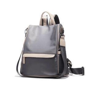 E Nuovo zaino all'aperto impermeabile da donna 2021 Oxford Students Students Light Zaino Zaino Borse Sport Stylish School Backpacks