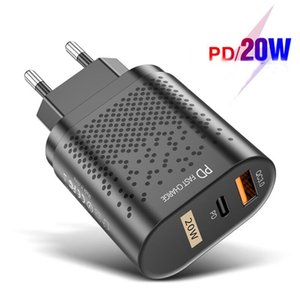 Fast Charging PD 20W Quick Charge 4.0 Type C USB Charger Mobile Phone Charger For iPhone 12 11 XS Samsung Xiaomi