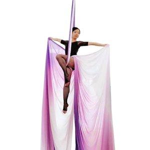 Prima forma fisica yoga amaca fitness di alta qualità 14.7metri / 16 yards 100% in nylon tessuto yoga di esercizio di danza