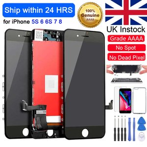 UK Grade Best+ for iPhone 7 7P 8 8Plus LCD with Perfect 3D Touch Screen Digitizer Assembly 6 6S