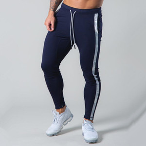 Casual Pants Men Joggers Sweatpants Autumn Running Workout Slim Trousers Male Cotton Trackpants Gym Fitness Bodybuilding Bottoms