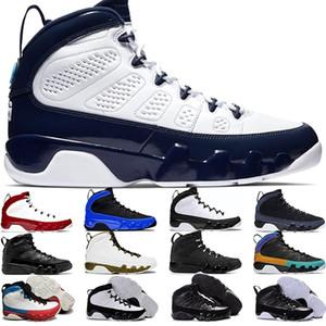 Dernier Jumpman Hommes Chaussures de basketball 9 9S Racer Bleu Gym Gym Rouge Un Un Un contre Space Bred Hommes Baskets Sports Taille 7-13