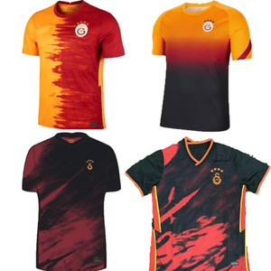 NCAA 20 21 Galatasaray home away BELHANDA Soccer Jerseys 2020 2021 Pre-Match GOMIS CIGERCI FERNANDO FEGHOULI SNEIJDE Oztekin third Football