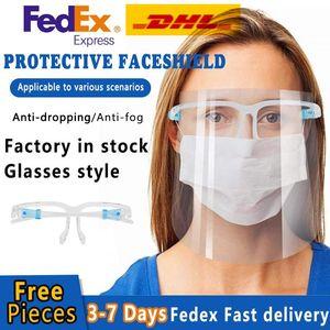 Заводская оптовая цена оптом цена Reuseabreted HD прозрачный PET пластиковые защитные маски нефтяной всплеск нефтяной стойки защищенного лица с губкой