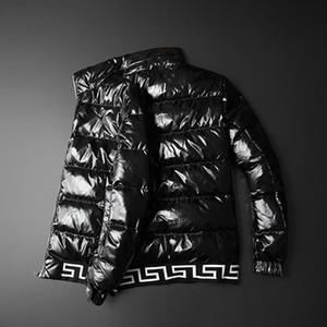 Hombre abajo chaqueta ganso chaqueta Canadá 20ss invierno nuevo empalme reposar collar casual caída caída vestida de lujo parka rompevientos