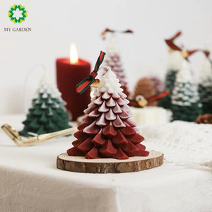 MY GARDEN Christmas Tree Fragrance Candle Gift Box New Year Gift for Decoration Home and Take photos
