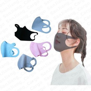 Thin Face Summer To Ice Easy Sunscreen Silk Adults Breathable Mask Solid 2020 Br Ewnht Washable Dustproof Color Fgtqs