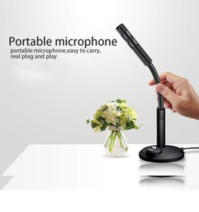 Karaoke Professional Microphone for Computer HD Studio Noise Cancelling USB 3.5mm Microphone Condenser For Recording Vocals PC