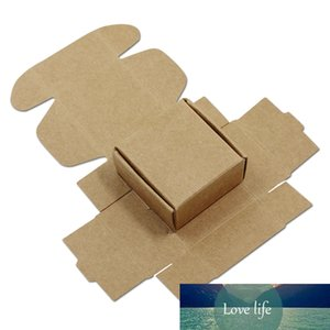 Mini Cardboard Paper Box Party Gifts Wrapper Case Natural Kraft Paper Box for Wedding Favors Candy Chocolate Packaging 50pcs Lot