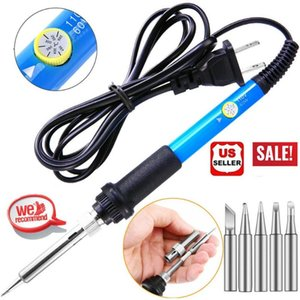 Altkomva 60W Electric Solding Irons Temperatura regolabile ferro elettrico mini maniglia a matita di calore saldatore