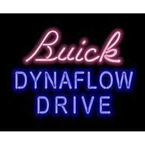 Buick Dynaflow Drive Neon Light Signs with metal frame, UL CUL CE listed