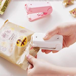Mini sellador de calor portátil Máquina de sellador de impulsos del hogar Embalaje Presión de mano Presión de mano Máquina de sellador de vacío