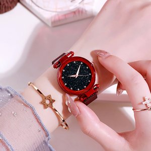 Manufacturers wholesale tiktok stone lazy table cross border hot selling magnetic source network with a loud sonic boom Star Watch female
